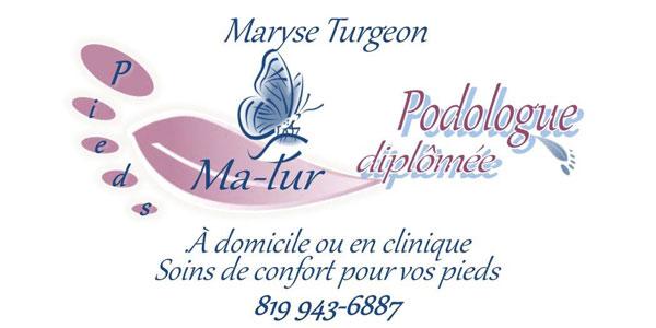 Pieds Ma-Tur Maryse Turgeon Podologue